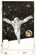 Original Comic Art:Covers, John Romita Jr. Star Brand #1 Alternative Unpublished CoverOriginal Art (Marvel, 1986)....