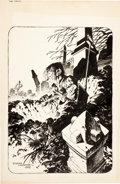 Original Comic Art:Illustrations, Bernie Wrightson The Monsters: Color the Creature Ghoul Book Illustration Original Art (Phil Seuling, 1974)....