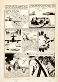 "Original Comic Art:Panel Pages, Wally Wood Blazing Combat #4 ""ME-262"" Page 6 Original Art(Warren Publishing, 1966)...."