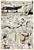Original Comic Art:Panel Pages, Neal Adams and Tom Palmer X-Men #58 Page 17 Original Art(Marvel, 1969)....