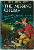 Books:Children's Books, Franklin W. Dixon. The Hardy Boys: The Missing Chums. NewYork: Grosset & Dunlap Publishers, 1962. Later printin...