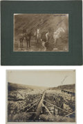 Photography:Official Photos, Two Identified Nome, Alaska, Turn-of-the-Century Original Photos.... (Total: 2 Items)