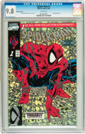 Modern Age (1980-Present):Superhero, Spider-Man #1 Platinum Edition (Marvel, 1990) CGC NM/MT 9.8 Whitepages....
