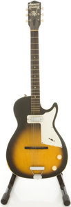 Musical Instruments:Electric Guitars, Circa Early 1960s Harmony Stratotone Sunburst Solid Body ElectricGuitar....