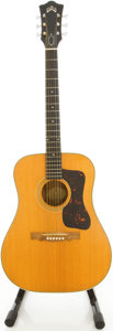 Musical Instruments:Acoustic Guitars, 1967 Guild D44 Natural Acoustic Guitar, #AC325....
