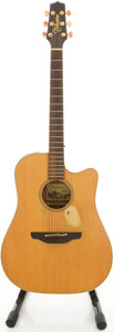 Musical Instruments:Acoustic Guitars, 2002 Takamine EAN10CX Natural Acoustic Electric Guitar, #02101063....