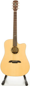 Musical Instruments:Acoustic Guitars, Alvarez MD90C Natural Acoustic Electric Guitar, #F502010069....