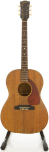 Musical Instruments:Acoustic Guitars, 1966 Gibson LG-0 Mahogany Acoustic Electric Guitar, #402155....