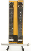 Musical Instruments:Lap Steel Guitars, Circa 1960 Gibson CG-520 Natural Table Steel Guitar....