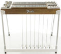 Musical Instruments:Lap Steel Guitars, Circa 1970's Fender Walnut Artist Dual 10 Pedal Steel Guitar,#0212....