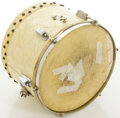 Musical Instruments:Drums & Percussion, Vintage Slingerland White MOTS Tom Drum....