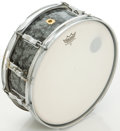 Musical Instruments:Drums & Percussion, 1968 Ludwig Keystone Black Pearl Snare Drum, #625225....