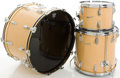 Musical Instruments:Drums & Percussion, Circa 1970's Rogers Natural Drum Set, #79727....