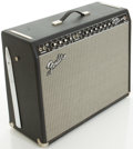 Musical Instruments:Amplifiers, PA, & Effects, Fender Twin Reverb Reissue Blackface Guitar Amplifier, #AC028014....