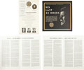 Political:Miscellaneous Political, John F. Kennedy: Texas Speeches and Memorial Album.... (Total: 4Items)