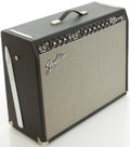 Musical Instruments:Amplifiers, PA, & Effects, Fender Twin Reverb Reissue Blackface Guitar Amplifier, #AC14968....