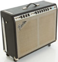 Musical Instruments:Amplifiers, PA, & Effects, Late 1970's Fender Twin Reverb Silverface Guitar Amplifier, #A76453....