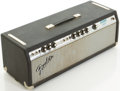 Musical Instruments:Amplifiers, PA, & Effects, Late 1970's Fender Bassman 100 Silverface Guitar Amplifier, #B09398....