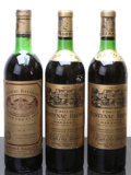 Red Bordeaux, Chateau Batailley . 1970 Pauillac hs, sos Bottle (1).Chateau Cantenac Brown . 1970 Margaux 1vhs, 1hs, 1...(Total: 3 Btls. )