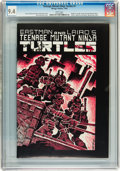 Modern Age (1980-Present):Alternative/Underground, Teenage Mutant Ninja Turtles #1 (Mirage Studios, 1984) CGC NM 9.4 White pages....