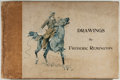 Books:Art & Architecture, [Frederic Remington]. Drawings by Frederic Remington. New York: R. H. Russell, 1897. First edition. Oblong quarto. F...