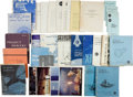Transportation:Space Exploration, Project Mercury: Collection of Original NASA Publications....(Total: 31 Items)