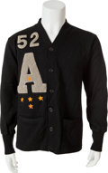 Transportation:Railroad, Ed White II: His U.S. Military Academy Army Letterman's Sweaterfrom 1952....