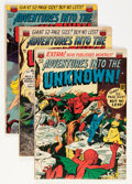 Golden Age (1938-1955):Horror, Adventures Into The Unknown Group (ACG, 1951-67) Condition: AverageVG.... (Total: 13 Comic Books)