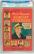 Golden Age (1938-1955):Miscellaneous, Meet the New Post-Gazette Sunday Funnies #nn (Pittsburgh Post, 1949) CGC VF+ 8.5 Off-white to white pages....