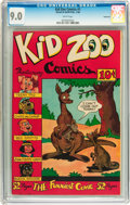 Golden Age (1938-1955):Funny Animal, Kid Zoo Comics #1 Vancouver pedigree (Street & Smith, 1948) CGCVF/NM 9.0 White pages....