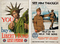 Military & Patriotic:WWI, Two World World One Posters.... (Total: 2 Items)