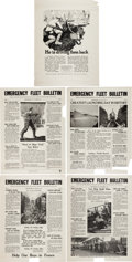 Military & Patriotic:WWI, World World One Posters.... (Total: 5 Items)