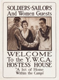 Military & Patriotic:WWI, Two World War Two Posters.... (Total: 2 Items)