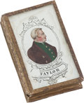 "Political:3D & Other Display (pre-1896), Zachary Taylor: ""Forget Me Not"" Box...."