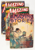 Pulps:Science Fiction, Amazing Stories Box Lot (Ziff-Davis, 1934-53) Condition: AverageGD/VG....