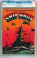 Golden Age (1938-1955):War, Ship Ahoy #1 Vancouver pedigree (Spotlight, 1944) CGC NM- 9.2Off-white to white pages....