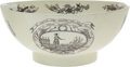 Political:3D & Other Display (pre-1896), George Washington: Superlative Liverpool Punch Bowl. ...