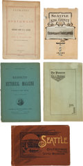 Miscellaneous:Booklets, Lot of Five Booklets Dealing with Washington and the PacificNorthwest... (Total: 5 Items)
