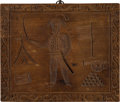Political:3D & Other Display (pre-1896), Mexican War Patriotic/Political Cake Board....
