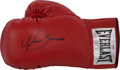 Boxing Collectibles:Autographs, Marco Antonio Barrera Signed Boxing Glove....