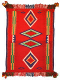 Other, A NAVAJO GERMANTOWN WEAVING. c. 1890...