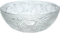 """Political:Presidential Relics, Lalique Crystal """"Pinsons"""" Bowl, Benefiting Lady Bird Johnson Wildflower Center...."""