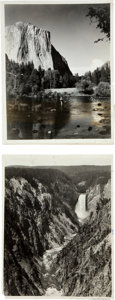 Photography:Official Photos, Ansel Adams: Pair of Yosemite Photographs.... (Total: 2 Items)