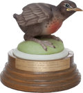 """Political:Presidential Relics, Boehm """"Baby Robin"""" Figurine Presented to Lady Bird Johnson by the Women of the Democratic Party. Benefiting Lady Bird John..."""
