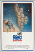 "Movie Posters:Adventure, The Right Stuff (Warner Brothers, 1983). Poster (40"" X 60"").Adventure.. ..."