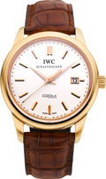 Timepieces:Wristwatch, IWC International Watch Co. Ref. 323303 Very Fine Jubilee Edition Rose Gold Ingenieur. ...