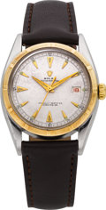 Timepieces:Wristwatch, Rolex Ref. 6075 Red Date Oyster Perpetual, circa 1951. ...