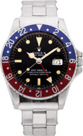 Timepieces:Wristwatch, Rolex Ref. 1675 Steel GMT Master, circa 1968. ...