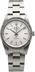 Timepieces:Wristwatch, Rolex Ref. 14010 Gent's Steel Oyster Perpetual Air King, circa1999. ...