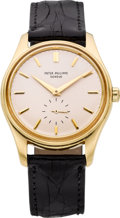 Timepieces:Wristwatch, Patek Philippe & Co. Ref. 2526 Gent's Gold Automatic, circa 1955. ...